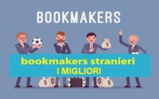 Siti scommesse e bookmakers stranieri